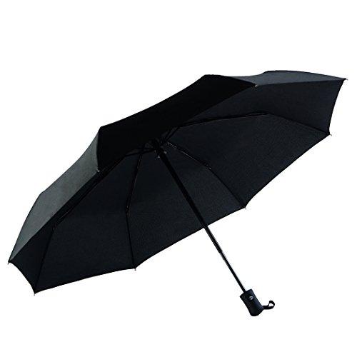 Ecourban Automatic Compact Lightweight Travel Umbrella, Waterproof & Windproof One Hand Golf Umbrella