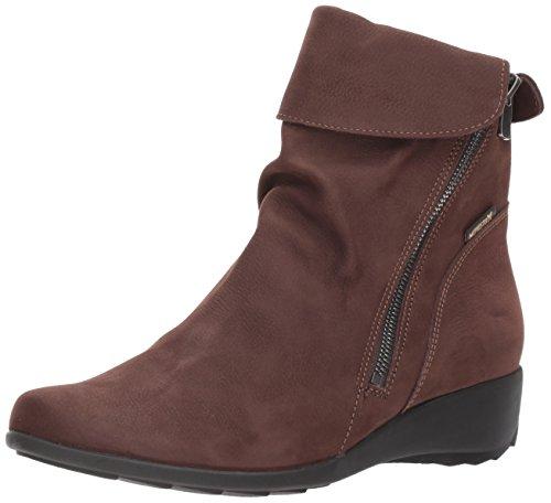 Mephisto Women's Seddy Ankle Bootie, Dark Brown Perceval, 7 M US