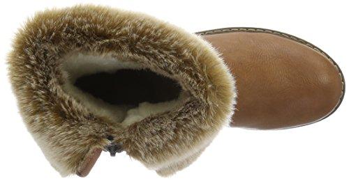Rieker Y9193, Botines para Mujer Marrón (muskat/steppe / 24)