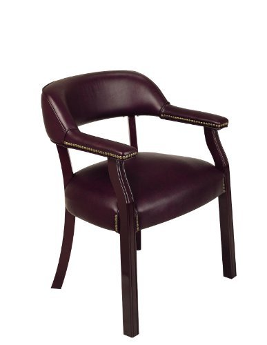 Traditional Guest Chair with Wrap Around Back by Office Star
