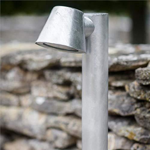 Garden Trading St Ives Mast Post Path Mains Garden Light LAHP43 Galvanised Steel