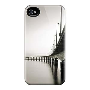 New Megan A Ferguson Super Strong Bridge Dusk Tpu Case Cover For Iphone 4/4s