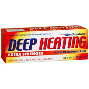 MENTHOLATUM DEEP HEATING RUB 2.0OZ MENTHOLATUM COMPANY INC