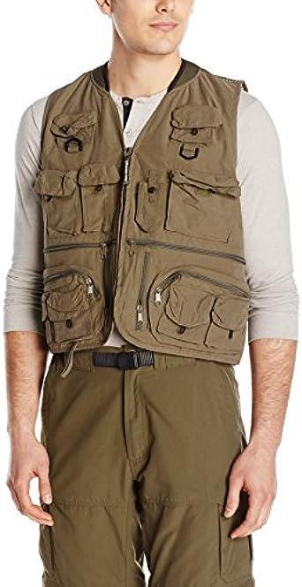 Master Sportsman Mens 27 Pocket Mesh Back Fishing Vest