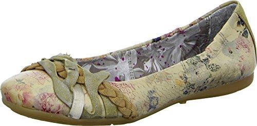 Mjus 670762 Damenschuhe Sommer Ballerinas Print Leder