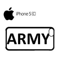 Army Soldier Mobile Cell Phone Case Cover iPhone 5c White