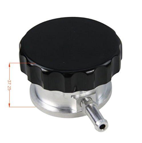 Billet Aluminum Filler Neck (ALLOYWORKS Weld on Radiator Filler Neck Billet Aluminum + 1 Free Radiator 1.1PA Cap)