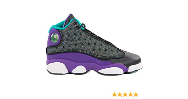 online store db043 ca2e5 Amazon.com  Nike Girls Air Jordan 13 (GS) black 439358-027  Shoes
