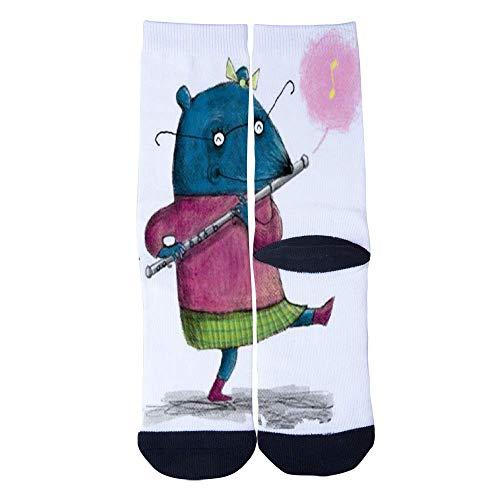 - Eletina lee Eletina kgirt Animals Seeking Sock , Men S Women S Custom Cute Animal Flute Musician Socks 3D Print Novel Creative Casual Crew Socks, Sock Seeking