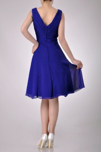 Line A Adorona Purple Length Grape Chiffon Women's Dress Knee ZTwqEgw