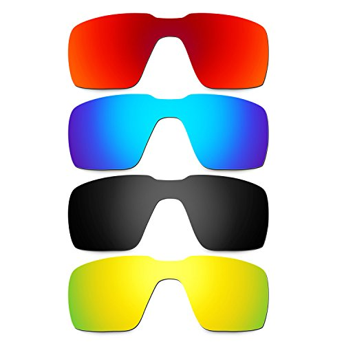 986b5eaea5d7b Bueno wreapped Hkuco Plus Mens Replacement Lenses For Oakley Probation  Red Blue Black