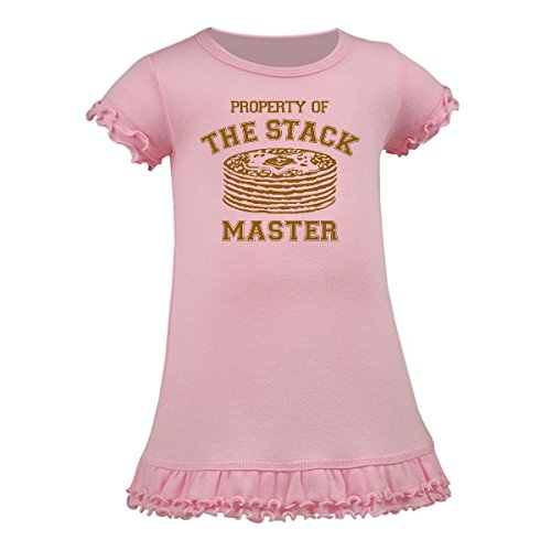 Inktastic - Property Of Stack Master A-Line Baby Dress 6 Months Baby Pink