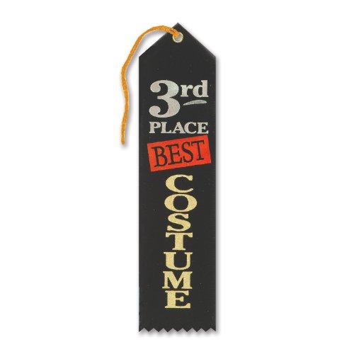 The Best Costume Design Schools (Beistle HAR503 Best Costume 3rd Place Award Ribbon, 2