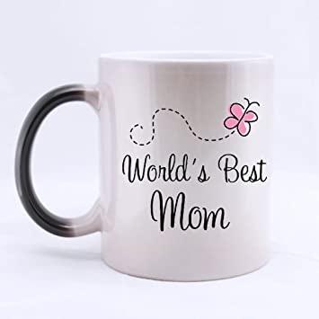 amazon com mother s day gift mug funny world s best mom color