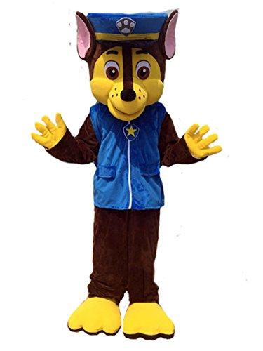 [ZYZB Dog Mascot costume Cartoon Character Costume (M- 5'7