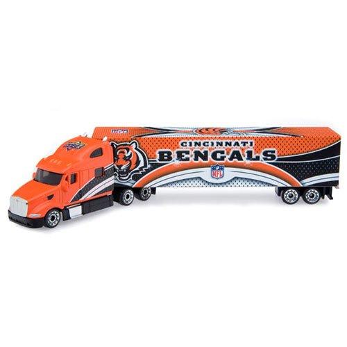 NFL 2008 Die-cast Tractor Trailer NFL Team: Cincinnati Bengals (Trailer Nfl Tractor Diecast)