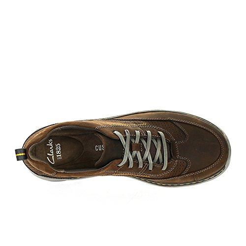 Clarks Charton Mix Brown Uomo Brogue z1HwqzY