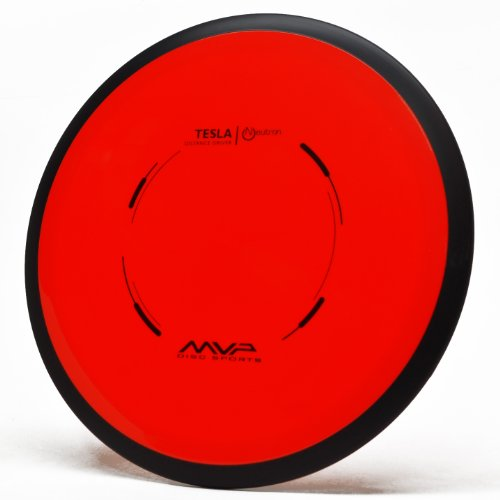 MVP Disc Sports Neutron Tesla Distance Driver (170-175g / Colors May (Pdga Disc)