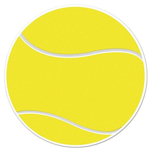 Beistle Tennis Cutout Yellow White product image