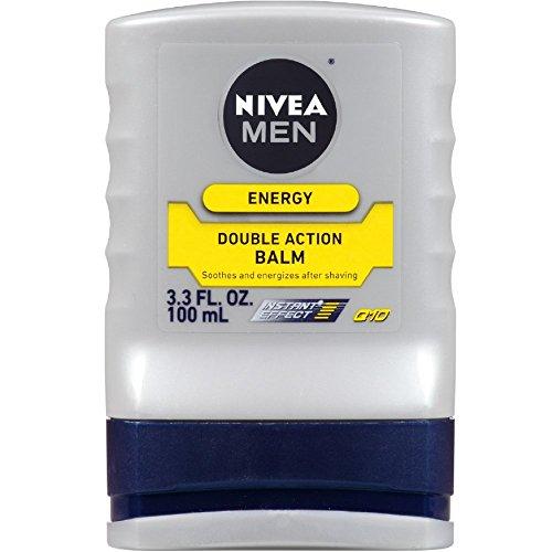 NIVEA FOR MEN Energy, Double Action Balm 3.30 oz