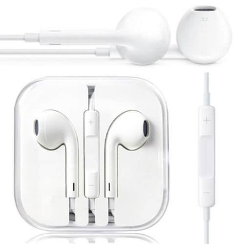Roboster Stereo Earphone Hands-Free Mini Size Headset With Mic And Volume Controller 3.5Mm Jack Compatible With All Android Samsung,Iphone,Xioami,Mi,Motorola- White