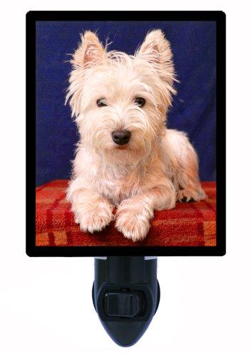 (Dog Night Light, Westie, West Hightland Terrier)