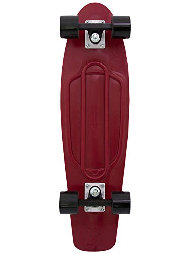 Penny Nickel Complete Skateboard Burgundy