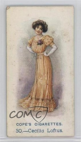 Cecilia Loftus COMC REVIEWED Good to VG-EX (Trading Card) 1913 Cope's Cigarettes Music Hall Artistes - Tobacco [Base] #30