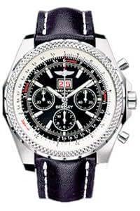Breitling A44362-101 - Reloj para hombres, correa de cuero