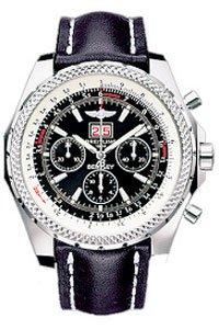 Breitling A44362-101 - Reloj para hombres, correa de cuero: Amazon.es: Relojes