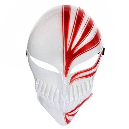 Party Mask - TOOGOO(R)Halloween Props Cosplay Bleach Ichigo Kurosaki Bankai Masquerade Party (Bleach Kurosaki Cosplay Costume)
