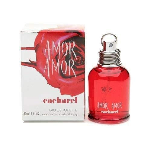 1cdc918bd0 Amazon.com : Amor Amor by Cacharel for Women Eau De Toilette Spray 1 oz :  Beauty