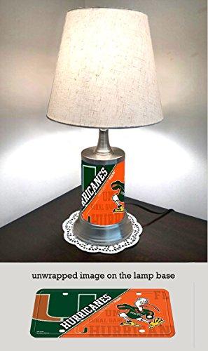 Miami Hurricanes Lamp with - Miami Shades