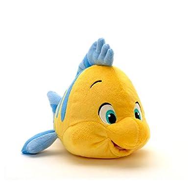 Disney The Little Mermaid: Flounder Plush 10: Toys & Games