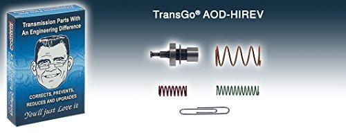 Transgo AODHIREV Valve Body Kit, Hi Reverse AOD