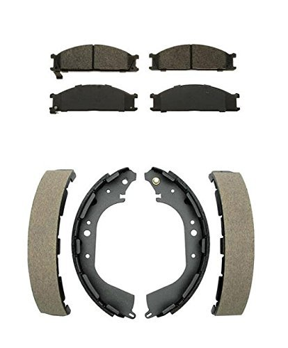 Mac Auto Parts 25513 Nissan Frontier 4x4 Front Pads & Brake Shoes CD333 BS631