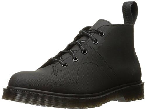 Dr. Martens Men's Church Ajax+Reflective Chukka Boot, Black, 10 UK/11 M US (Church Monkey Boot)
