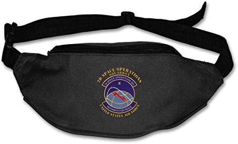 2D宇宙作戦中隊ユニセックスアウトドアファニーパックバッグベルトバッグスポーツウエストパック