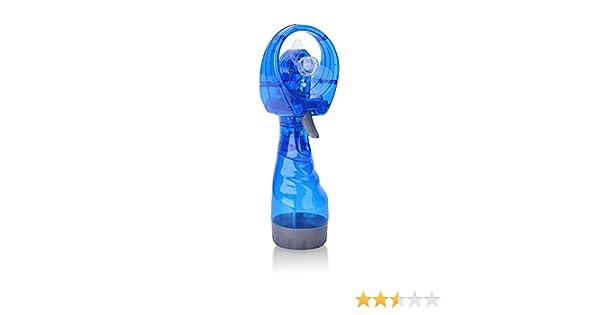 Zhi Jin ventiladores de refrigeración ventilador recargable Handheld Mini Spray de agua portátil con vaporizador Personal ventiladores oficina de viaje regalo: Amazon.es: Hogar