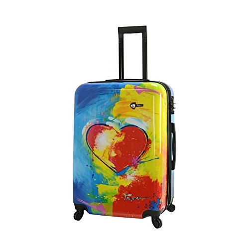 Mia Toro 28 Inch Spinner Luggage, Prado-in Love by Mia Toro