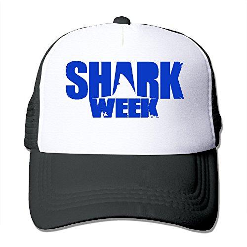 Price comparison product image HandSon Custom Personalized Mesh Shark Week Basketball Caps Black