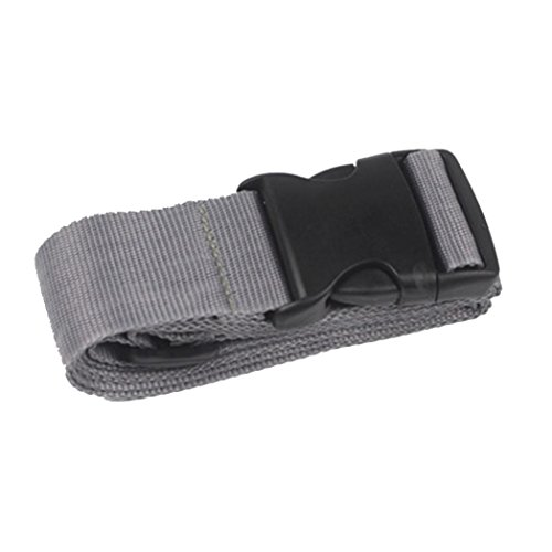 Cashmere Womans Snap Wallet (DWD Adjustable Suitcase Luggage Straps Travel Buckle Baggage Tie Down Belt Lock (gray))