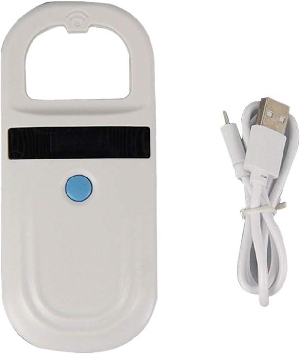 LF 134.2KHz Pocket Reader Handheld Animal Chip Reader Scanner Pet Dog Cat ID Reader