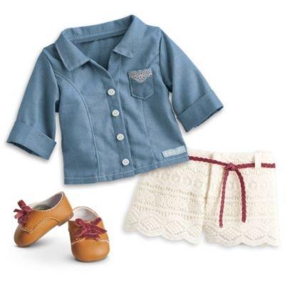 Kit De Acessorios Para Boneca American Girl Dvl99