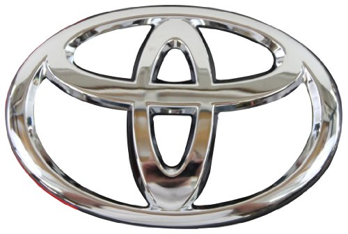 (Genuine Toyota Accessories 75432-06030 Toyota Logo Trunk Lid Emblem)