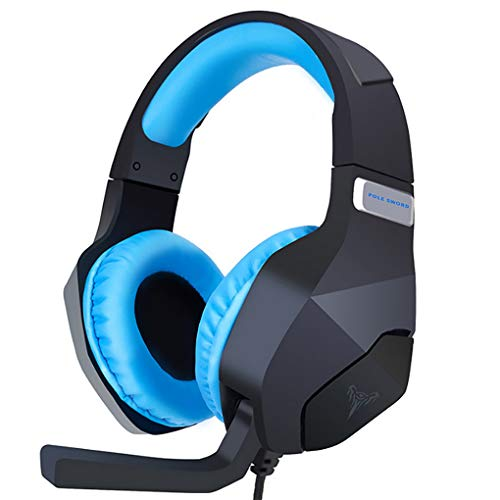 ACMEDE Gaming Headset for PC/PS4/XboxOne Headphone with Mic Control Volume 3.5mm Jack Noise Reduction Stereo Sound Soft…