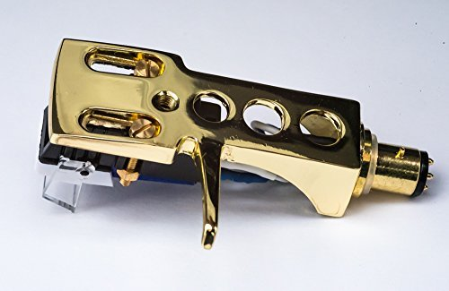- Gold plated Headshell, mount with cartridge and stylus, needle for Stanton T 50, T 52, T 55 usb, T 60, T 62, T 80, T 92, T92 usb, T 120, ST 100, ST 150, - MADE IN ENGLAND