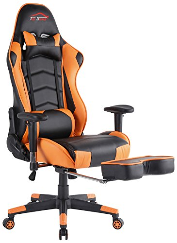 Big Gaming Chair Ergonomic Computer Office Chair With