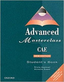 CAE Masterclass 1999