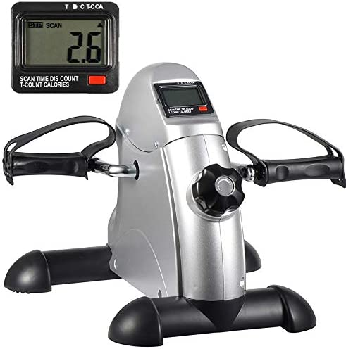 HomGarden Pedal Exercisers Bike Pedals w/LED Display